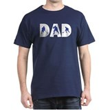 Hockey Dad Black T-Shirt