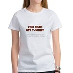 Enough Social for Today Women's T-Shirt