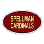 Spellman Cardinals Sticker (Oval)