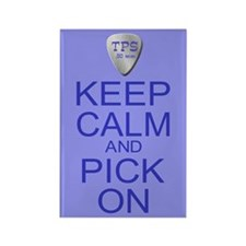 Keep Calm Pick On (Parody) Rectangle Magnet