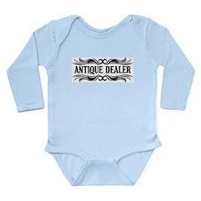 Tribal Antique Dealer Long Sleeve Infant Bodysuit