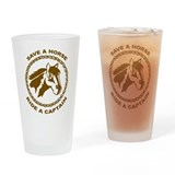 Ride A Captain Pint Glass
