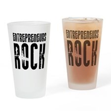 Entrepreneurs Rock Pint Glass