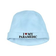 I Love My Paramedic baby hat