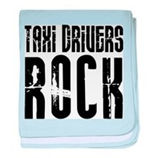 Taxi Drivers Rock baby blanket