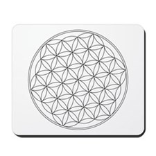 Flower Of Life Symbol Mousepad