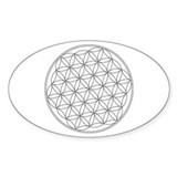 Flower Of Life Symbol Stickers