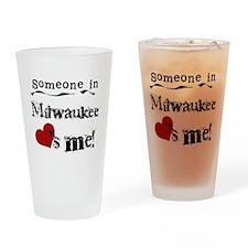 Milwaukee Loves Me Pint Glass