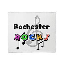 Rochester Rocks Throw Blanket