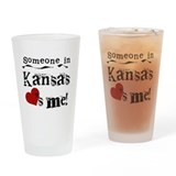 Someone in Kansas Pint Glass
