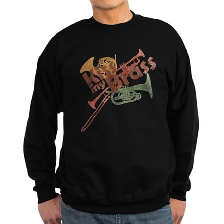 Kiss My Brass Sweatshirt (dark)