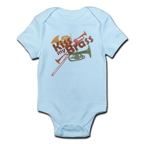 Kiss My Brass Infant Bodysuit