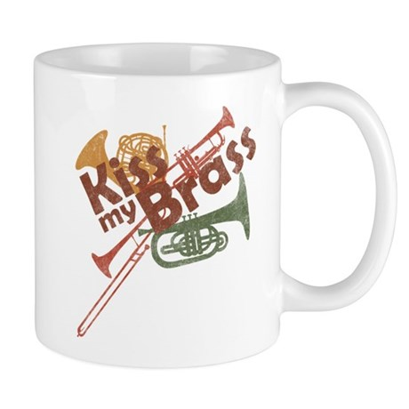 Kiss My Brass Mug