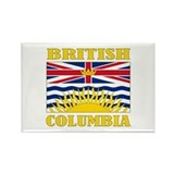 British Columbia Rectangle Magnet