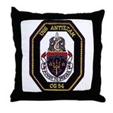 USS Antietam CG 54 Throw Pillow