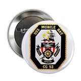 USS Mobile Bay CG-53 Button