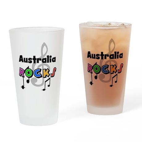 Australia Rocks Pint Glass