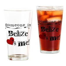 Belize Loves Me Pint Glass