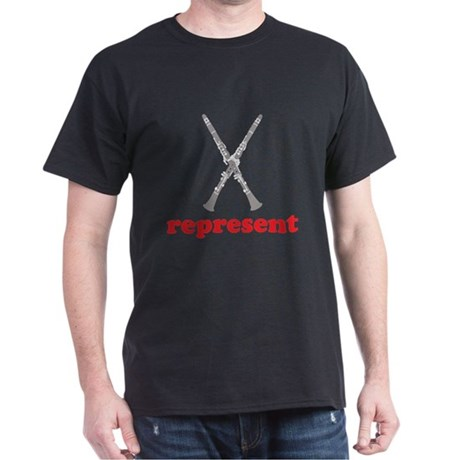 Clarinet Represent Dark T-Shirt