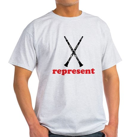 Clarinet Represent Light T-Shirt