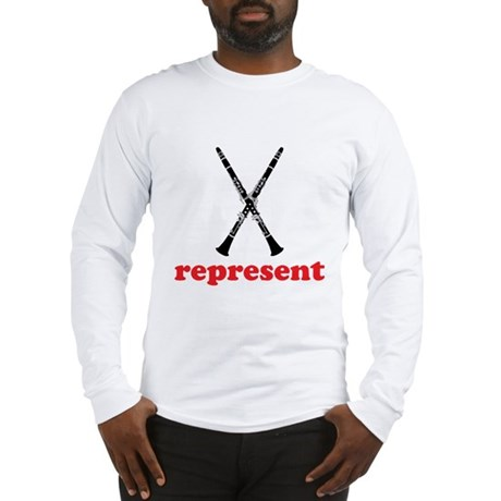 Clarinet Represent Long Sleeve T-Shirt