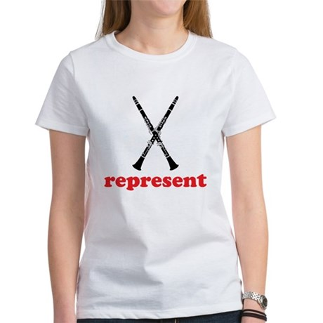 Clarinet Represent Women's T-Shirt