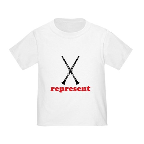 Clarinet Represent Toddler T-Shirt