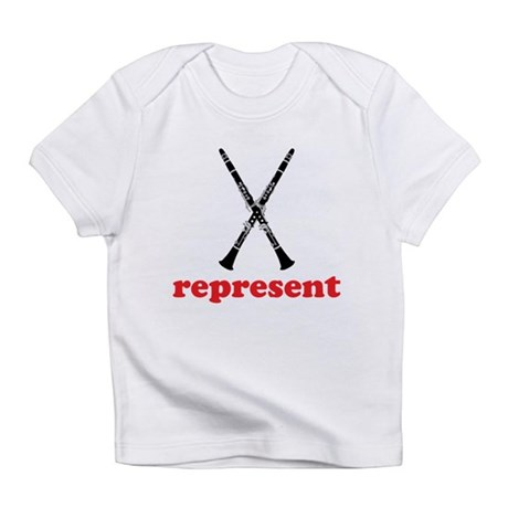 Clarinet Represent Infant T-Shirt