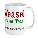 Super Weasel Lawyer Mug