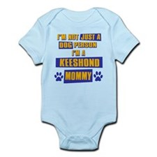 Keeshound Mommy Infant Bodysuit