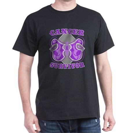 Pancreatic Cancer Survivor Dark T-Shirt