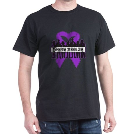 Pancreatic Cancer Support Dark T-Shirt