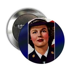 "Vintage Coast Guard 2.25"" Button (10 pack)"