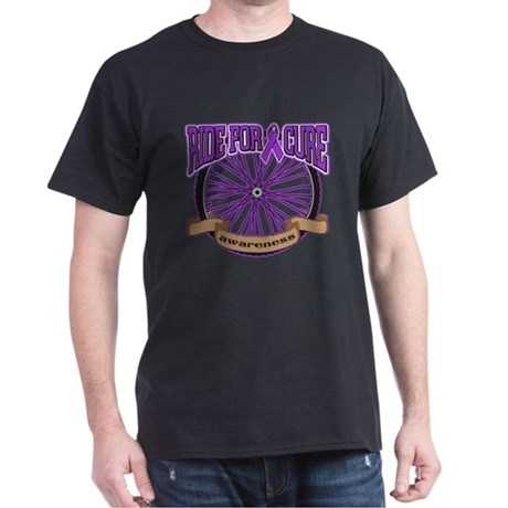 Pancreatic Cancer Cure Ride Dark T-Shirt
