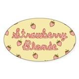 Strawberry Blonde Decal