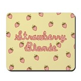 Strawberry Blonde Mousepad