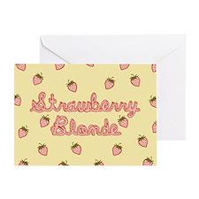 Strawberry Blonde Greeting Card