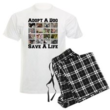 Adopt A Dog Save A Life Pajamas