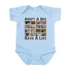 Adopt A Dog Save A Life Infant Bodysuit