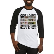 Adopt A Dog Save A Life Baseball Jersey