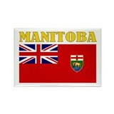 Manitoba Rectangle Magnet