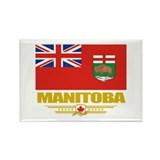Manitoba Pride Rectangle Magnet