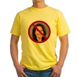 No Michele 2012 Yellow T-Shirt