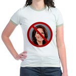 No Michele 2012 Jr. Ringer T-Shirt