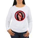No Michele 2012 Women's Long Sleeve T-Shirt