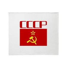 Cool CCCP Throw Blanket