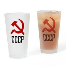 CCCP Pint Glass