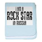 Rock Star In Russia baby blanket