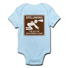 Spelunking Infant Bodysuit