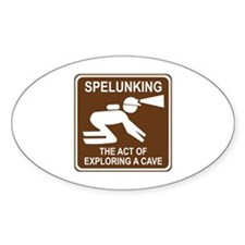 Spelunking Decal